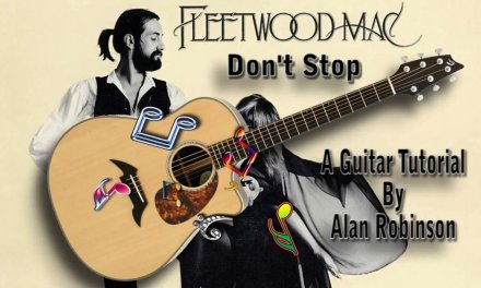 Don't Stop – Fleetwood Mac – Acoustic Guitar Lesson (Easy – Detune by 2 frets)