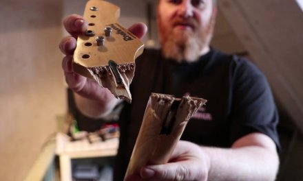 broken neck guitar repair by HNM Music. Part 1: Break & Glue