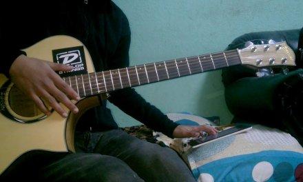 Gangster blues – Ajambari maya guitar lesson