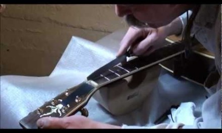 Callie's guitar repair pt.20