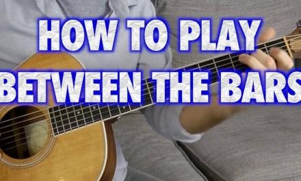 Between the Bars Guitar Lesson – Elliott Smith