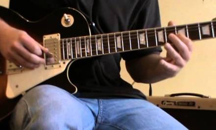No Woman No Cry solo cover + TAB (guitar solo lesson)