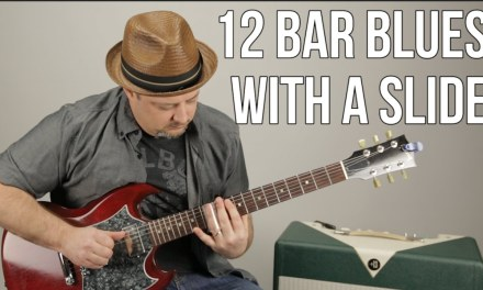Slide Guitar Lessons – Blues Rock – Playing Over 12 Bar Blues With a Slide