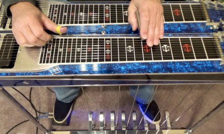 Speed Picking Lick | Pedal Steel Guitar Lesson