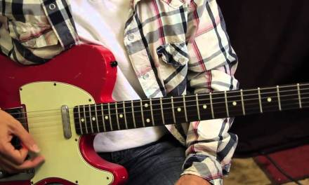 """Heavy Metal Guitar Lessons – Iron Maiden – How to Play the Riff from """" Wasted Years """""""