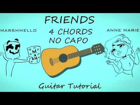 Friends Anne Marie & Marshmello – Guitar Tutorial Lesson Chords ...