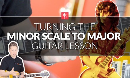 Turning The Minor Scale To Major Scale – Jimmy Page Style Guitar Lesson
