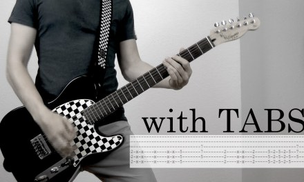 Skillet – The Resistance Guitar Cover w/Tabs on screen