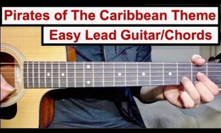 Pirates of The Caribbean Theme   EASY Lead Guitar/Chords Lesson (Tutorial) How to play the Lead
