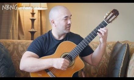 Bianco Fiore | Classical Guitar Lesson | Cesare Negri | NBN Guitar