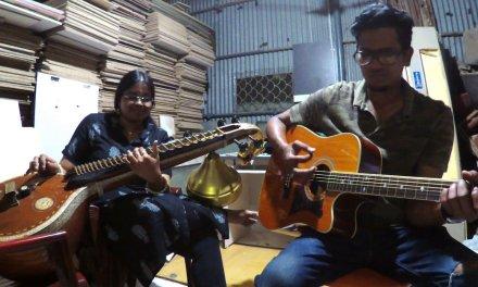 Kanmani Anbodu | Veena-Guitar  Cover ft Anjani Srinivasan | Part-1 | Isaac Thayil | Ilayaraja |Cover