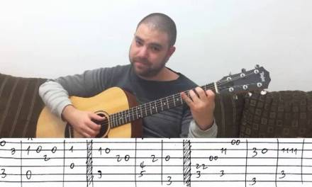 Fingerstyle Tutorial: End of the World – Guitar Lesson w/ TAB