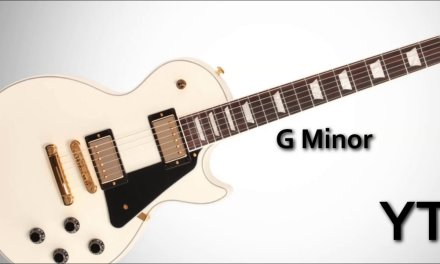 G Minor Backing Track Melodic Rock