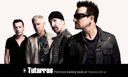 U2 – pride live [Guitar Backing tracks]