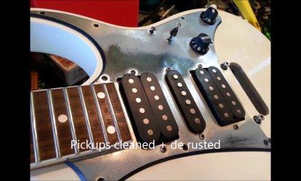 Ibanez GIO guitar repair