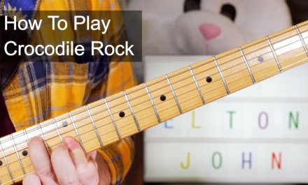 'Crocodile Rock' Elton John Guitar Lesson