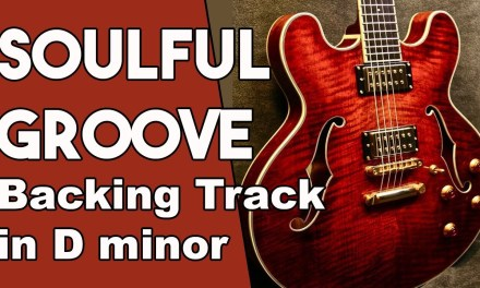 Soulful Groove Backing Track in Dm