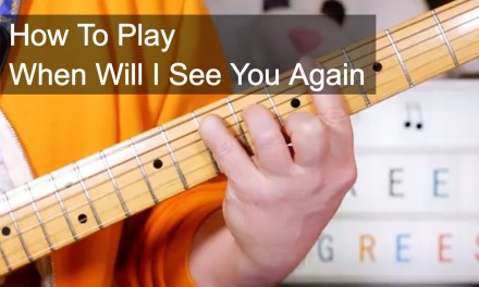 'When Will I See You Again' The Three Degrees Guitar Lesson