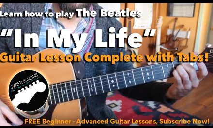 "Easy Acoustic Guitar Lesson – The Beatles ""In My Life"" – Beginner Friendly Tutorial"