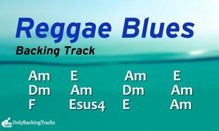 Groovy Reggae Blues Backing Track (A Minor) 92 Bpm