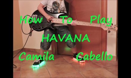 Camila Cabello Havana (BASS HOW TO PLAY LESSON COVER)