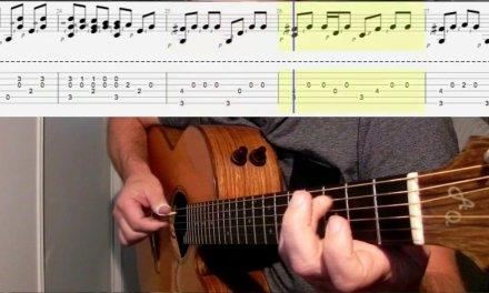 Depeche Mode Tutorial Lesson Fingerstyle : Somebody (Fingerstyle Guitar, Free tabs & score)