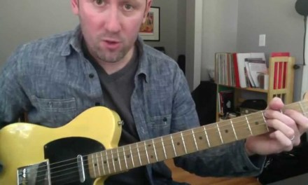 Blues Guitar Lesson – Hollywood Fats Turnaround in Key of E – Part 1
