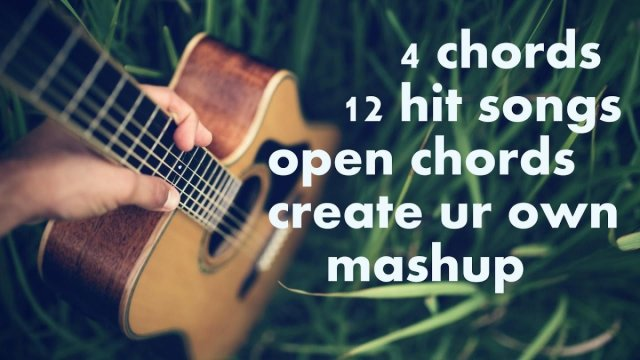 4 open chords 12 Hit Songs GUITAR SIMPLE ACOUSTIC LESSONS BOLLYWOOD ...