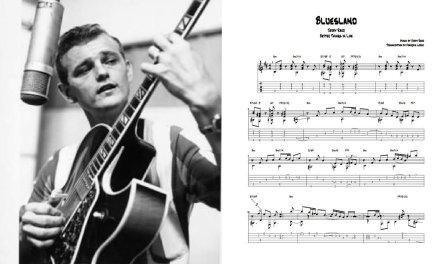 Bluesland – Jerry Reed (Transcription)