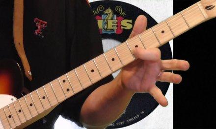 Hubert Sumlin Guitar Lesson   Louise Solo