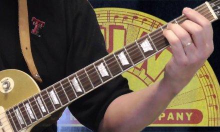 Sun Records Blues Guitar Lesson   Part 3