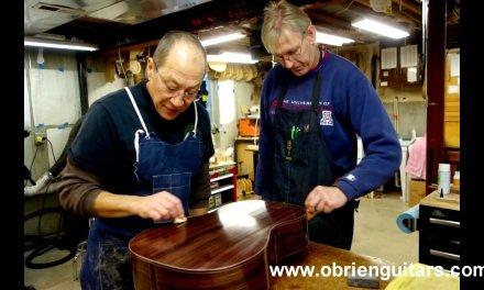O'Brien Guitars – Classical Guitar Building Class
