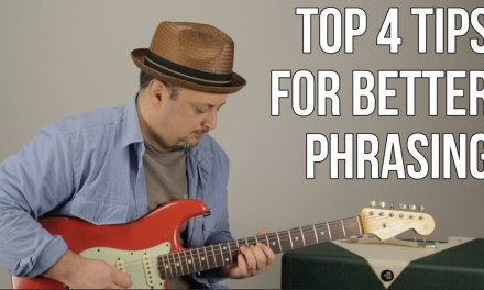4 Tips For Better Phrasing in Your Lead Guitar Playing – Blues Rock Guitar Soloing Lesson