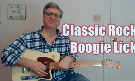 Classic Rock Boogie in G Lick (Guitar Lesson with TAB)