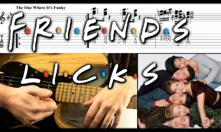 Guitar Licks To Impress #4: Friends Guitar Licks Lesson With Tab