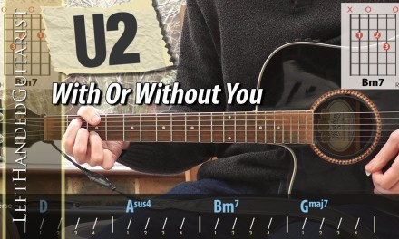 U2 – With Or Without You | acoustic guitar lesson