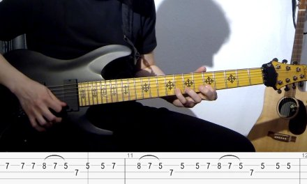 Iron Maiden – Dance of Death – Main Riff Lesson (Janick Gers)