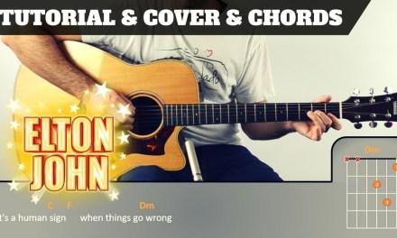 SACRIFICE | Elton John | TUTORIAL + PDF GRATIS + COVER |