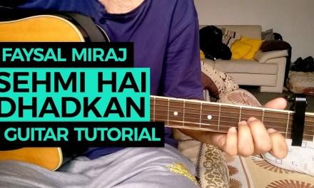 Sehmi Hai Dhadkan Guitar Lesson | Atif Aslam | Daas Dev | Faysal Miraj Chords Tutorial