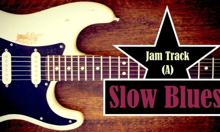 Slow Blues Jam Backing Track (A) – Quist