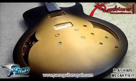 Pace Guitar Repair Paintbooth Tour