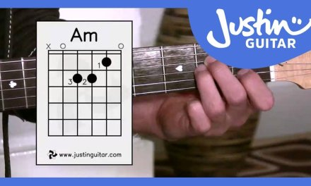 The A minor Chord, Guitar Lessons For Beginners Stage 2 (Guitar Lesson BC-121)