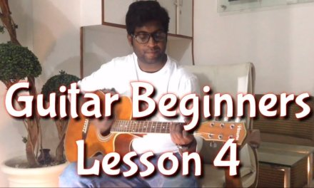 Guitar Lesson 4 For Beginners in Hindi I 4beats musical academy
