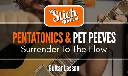 Making Your Pentatonic A Little More Melodic