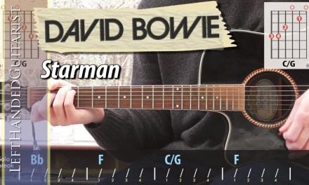 David Bowie – Starman | guitar lesson