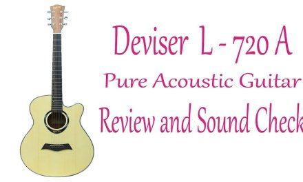 Deviser (L – 720 A) Pure Acoustic Guitar Review and Sound Check -Guitarshopbd