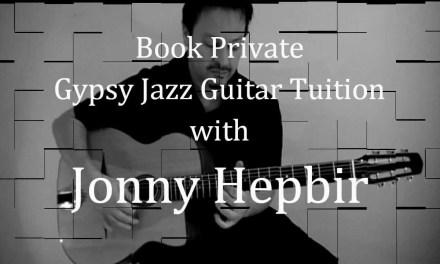 Gypsy Jazz Guitar Lessons with Jonny Hepbir