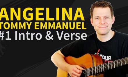 How to play Angelina by Tommy Emmanuel #1 Guitar Lesson