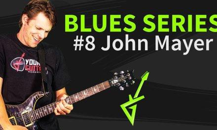 Blues Guitar Series #8: John Mayer Blues Lick Guitar Tutorial