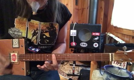 Boogie Woogie lesson pt. 8 Statesboro Blues lesson for 3 string Cigar Box Guitar